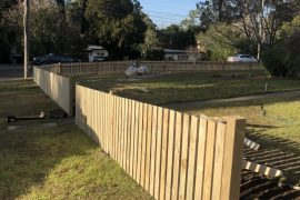 TIMBER FENCING 1