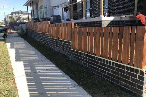 Fence installation in north Sydney