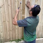 Fence contractor in North Sydney