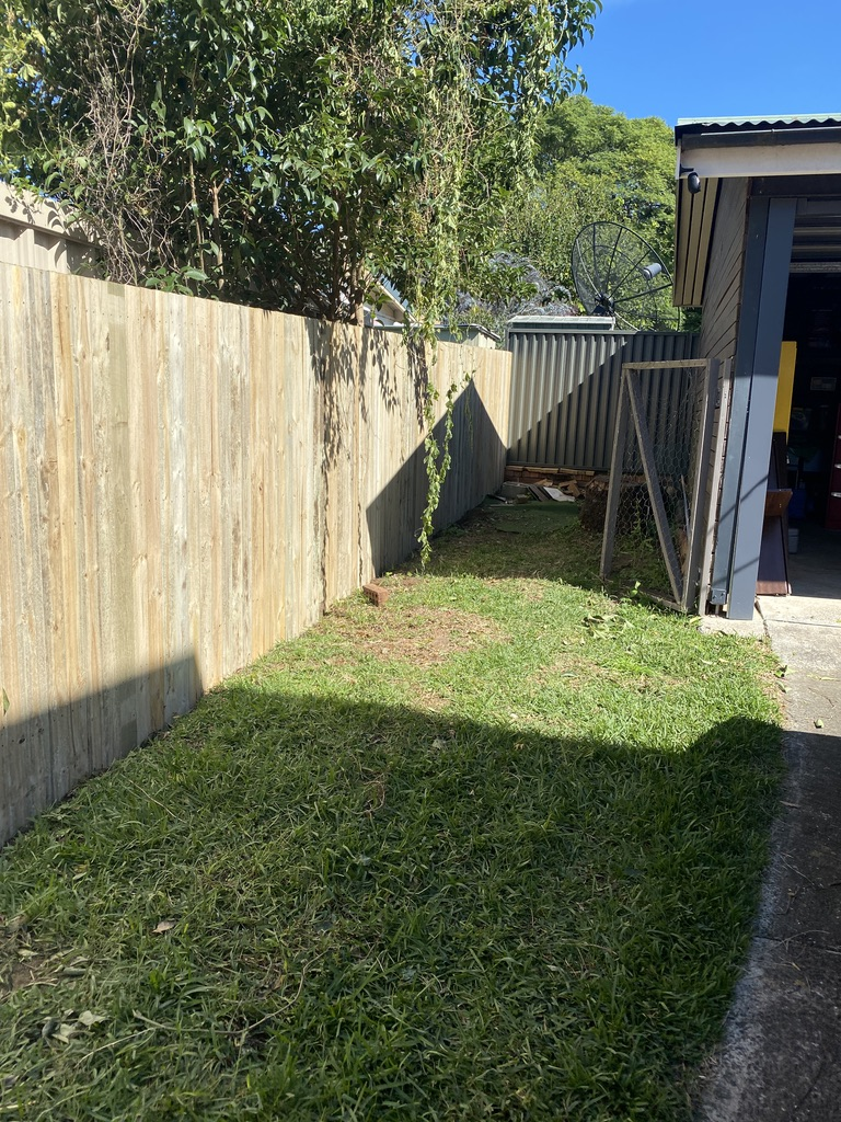Timber fence in Sydney