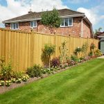 Timber fencing north shore
