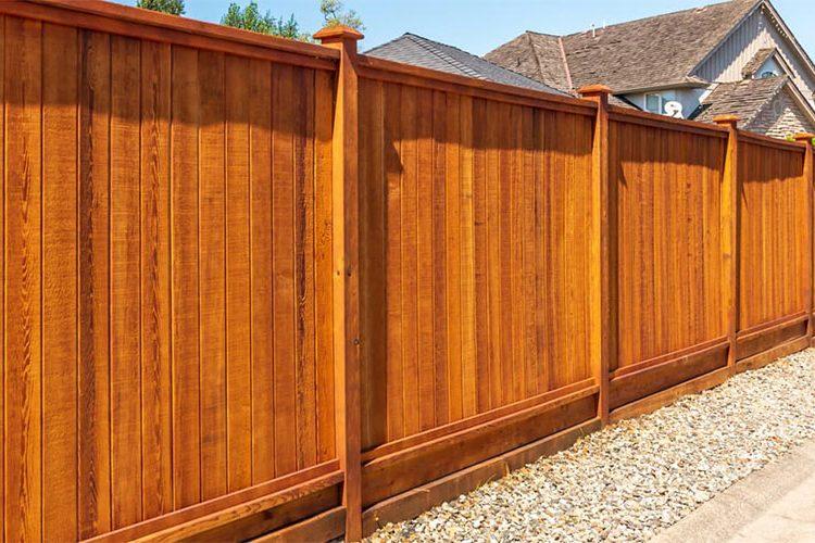 Sydney wood fence