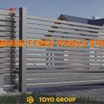 Aluminum fence panels Sydney