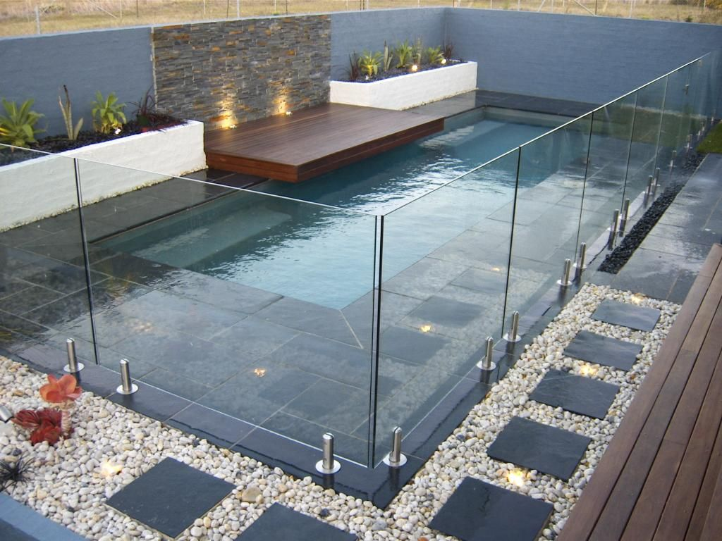 Simplicity serves beauty with frameless glass pool fencing in north shore