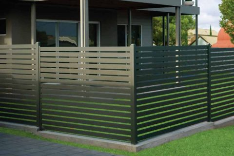 Comfort and protect yourself with aluminium slat fencing bunnings in Sydney