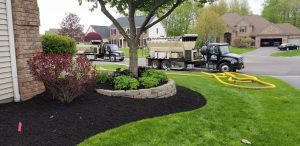Gold Coast soil and mulch blowing