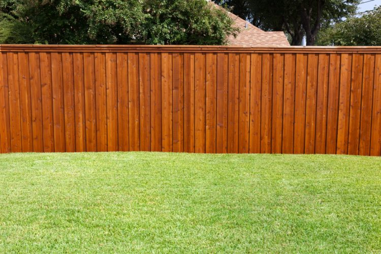 Everything you need is under timber fence capping Sydney