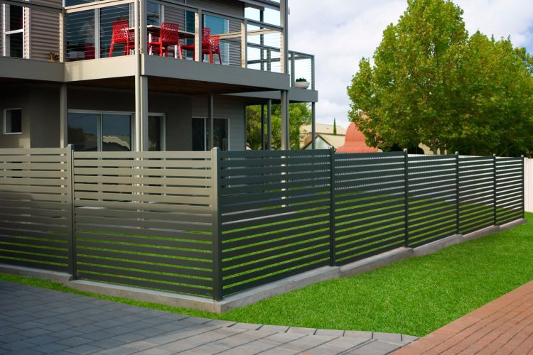 We are the turnkey solution for aluminium slat fencing systems Sydney