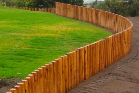 Vertical timber batten fence Sydney that makes your screen looks great